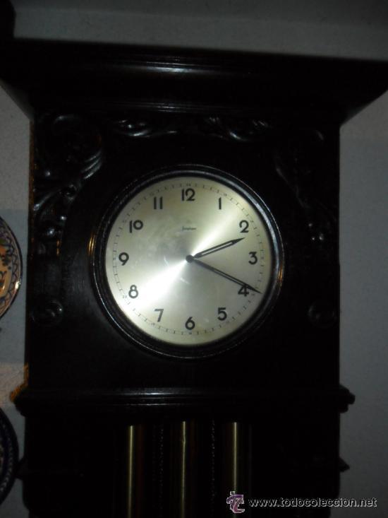Relojes de pie: RELOJ DE PIÉ MAQUINARIA JUNGHANS -GERMANY PRINCIPIOS DEL SIGLO XX - FUNCIONANDO - Foto 5 - 37633273