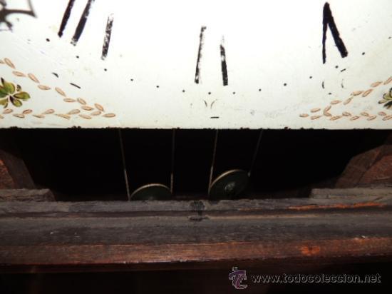 Relojes de pie: PRECIOSO RELOJ INGLES CON SEGUNDERO Y CALENDARIO. FUNCIONA CORRECTAMENTE - Foto 11 - 38450459