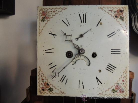 Relojes de pie: PRECIOSO RELOJ INGLES CON SEGUNDERO Y CALENDARIO. FUNCIONA CORRECTAMENTE - Foto 10 - 38450459