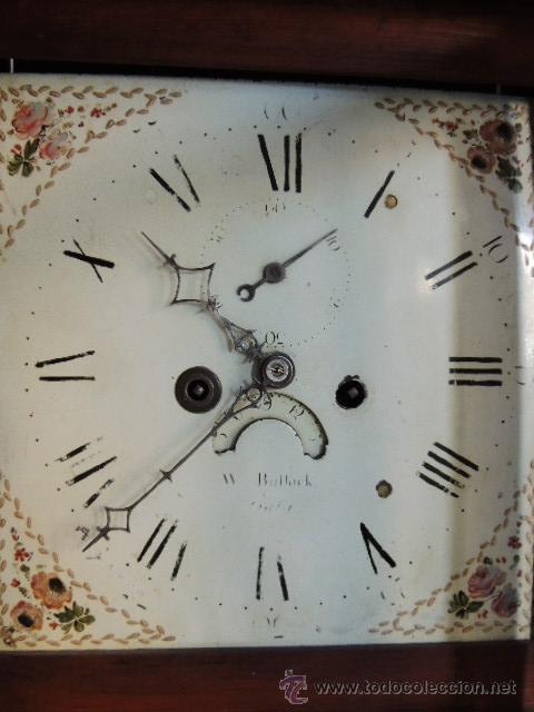 Relojes de pie: PRECIOSO RELOJ INGLES CON SEGUNDERO Y CALENDARIO. FUNCIONA CORRECTAMENTE - Foto 12 - 38450459