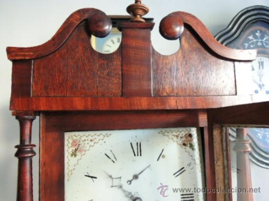 Relojes de pie: PRECIOSO RELOJ INGLES CON SEGUNDERO Y CALENDARIO. FUNCIONA CORRECTAMENTE - Foto 8 - 38450459