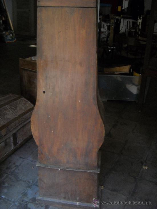 Relojes de pie: Antigua caja de pie. 200 cm altura - Foto 2 - 38950193