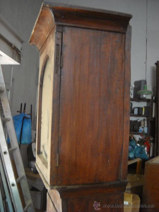 Relojes de pie: Antigua caja de pie. 200 cm altura - Foto 3 - 38950193