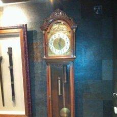 Relojes de pie: RELOJ ANTESALA DE ROBLE MACIZO ( MOREZ 4 CAMPANAS ). Lote 41301161
