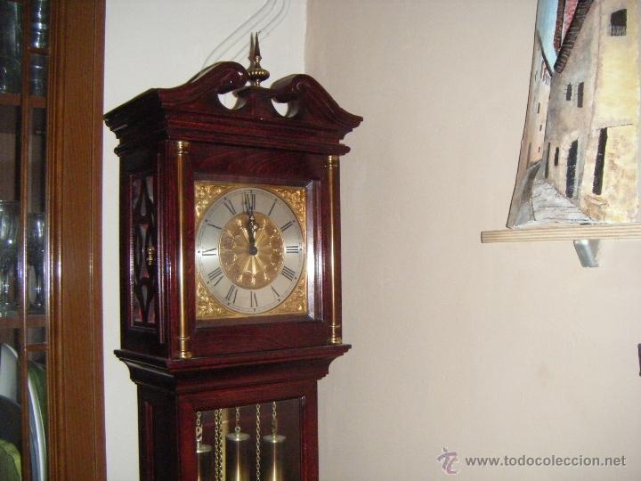 Relojes de pie: RELOJ DE PIE PESAS EN PERFECTO ESTADO - Foto 4 - 41522127
