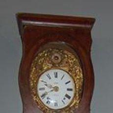 Relojes de pie: RELOJ DE PIE - MAQUINA MOREZ - PENDULO Y CAJA DECORADA - FUNCIONA - FINALES SIGLO XIX. Lote 41636738