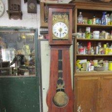 Relojes de pie: PRECIOSO RELOJ MOREZ CON CAJA DE MADERA ORIGINAL, EN FUNCIONAMIENTO.. Lote 42569065