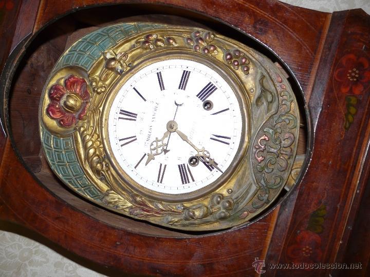 Relojes de pie: RELOJ DE PIE MOLEON SANCHEZ SIGLO XX, 6000-659 - Foto 4 - 43844793