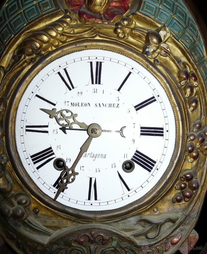 Relojes de pie: RELOJ DE PIE MOLEON SANCHEZ SIGLO XX, 6000-659 - Foto 5 - 43844793