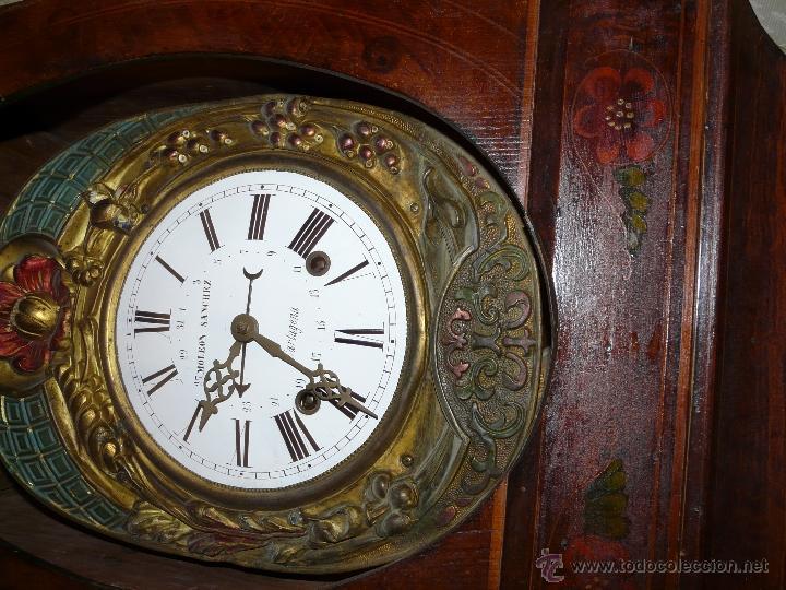 Relojes de pie: RELOJ DE PIE MOLEON SANCHEZ SIGLO XX, 6000-659 - Foto 6 - 43844793