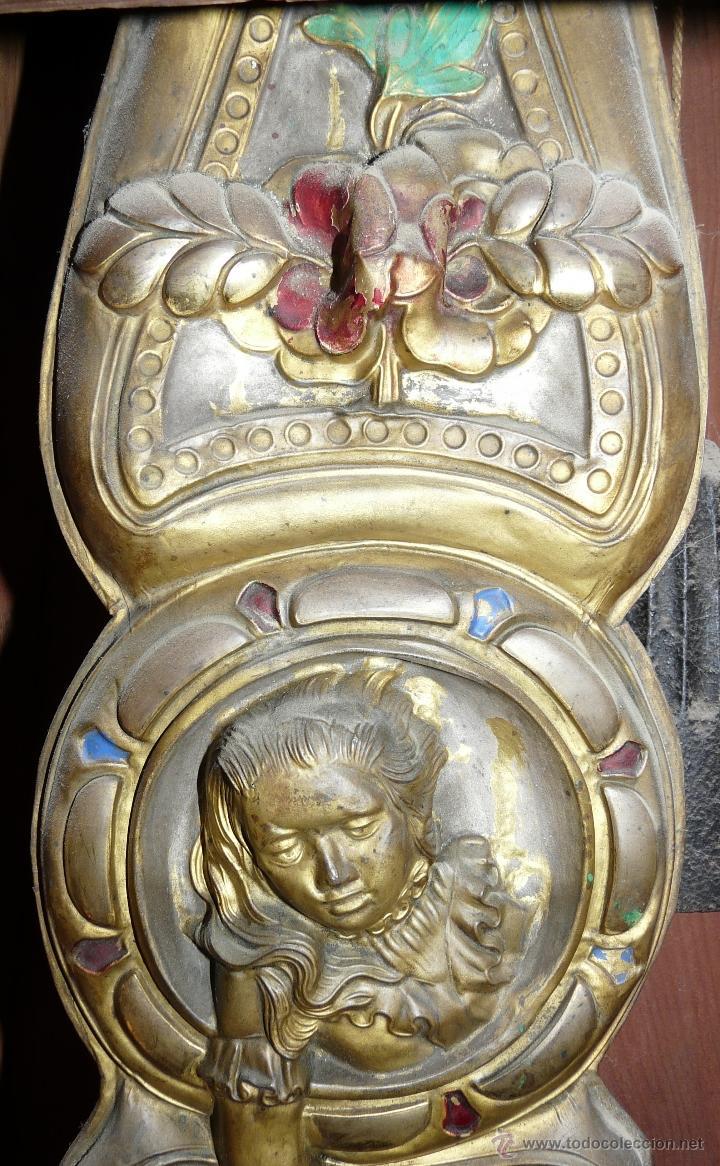 Relojes de pie: RELOJ DE PIE MOLEON SANCHEZ SIGLO XX, 6000-659 - Foto 7 - 43844793