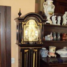 Relojes de pie: BONITO RELOJ DE PIE CON MOTIVOS CHINOS - SOLO RECOGIDA EN VALENCIA -. Lote 45298081