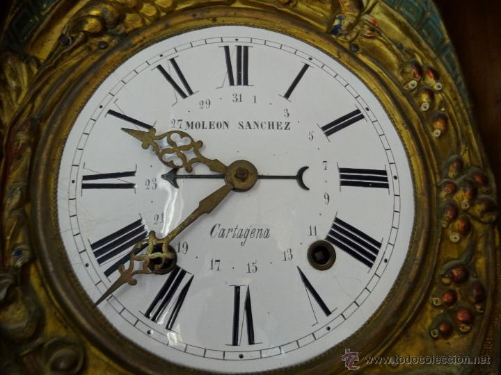 Relojes de pie: RELOJ DE PIE MOLEON SANCHEZ SIGLO XX, 6000-659 - Foto 11 - 43844793