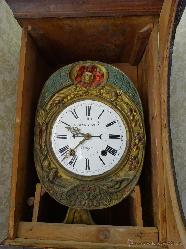 Relojes de pie: RELOJ DE PIE MOLEON SANCHEZ SIGLO XX, 6000-659 - Foto 12 - 43844793