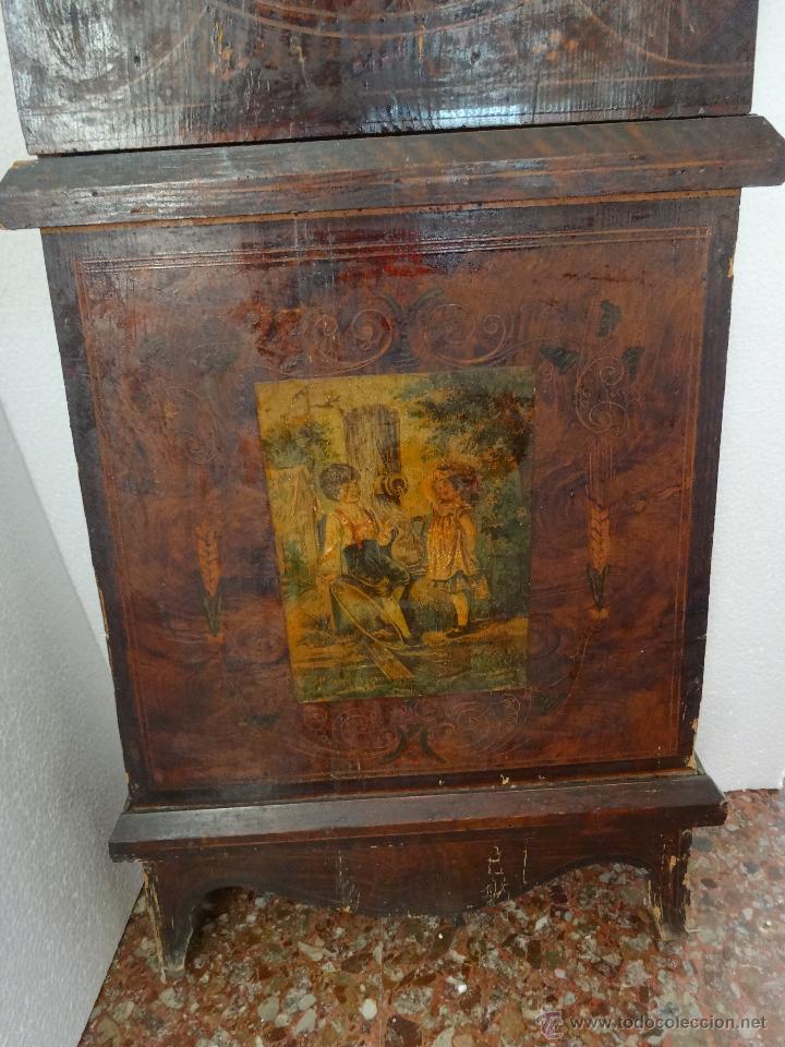 Relojes de pie: RELOJ DE PIE MOLEON SANCHEZ SIGLO XX, 6000-659 - Foto 14 - 43844793
