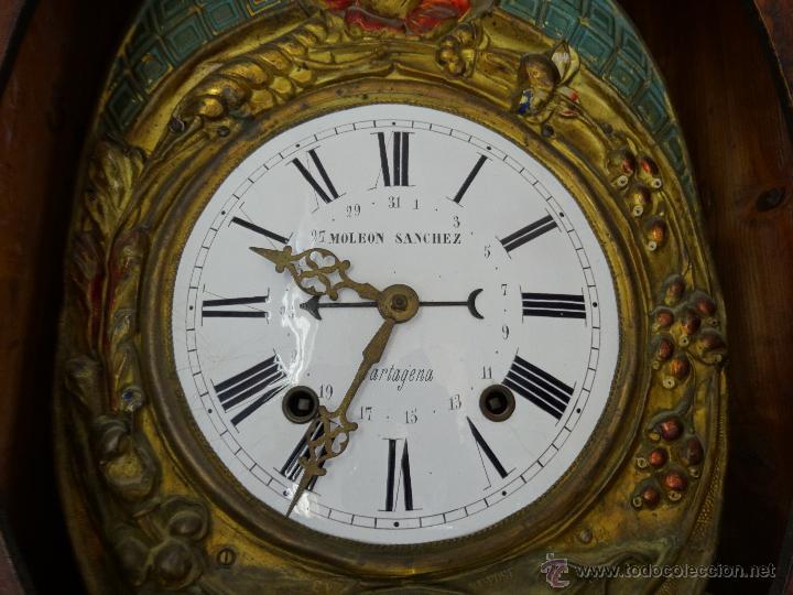 Relojes de pie: RELOJ DE PIE MOLEON SANCHEZ SIGLO XX, 6000-659 - Foto 20 - 43844793