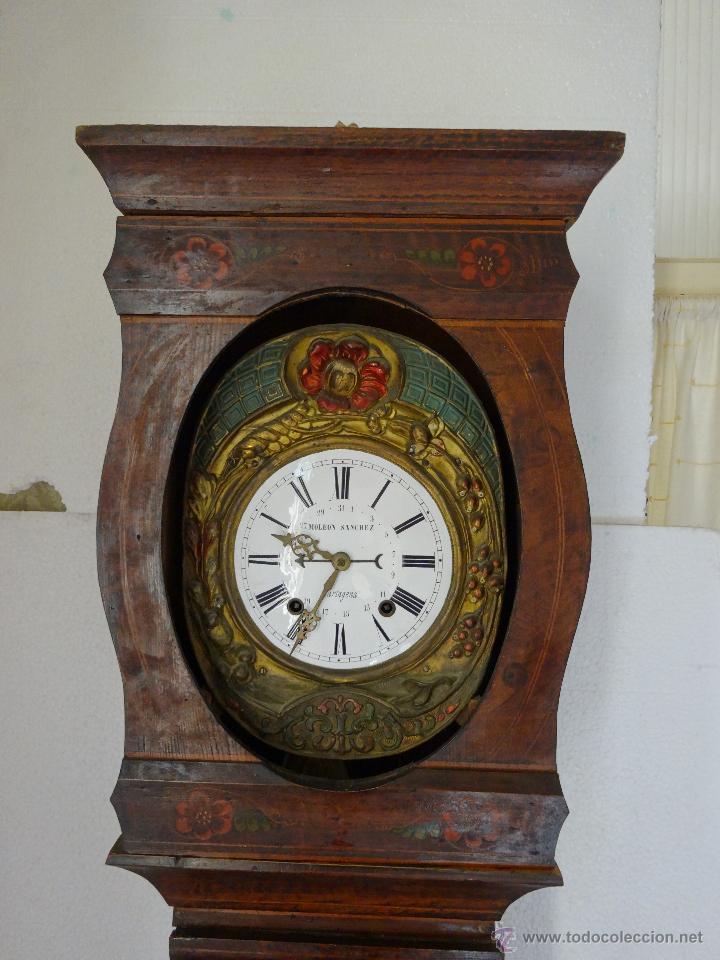 Relojes de pie: RELOJ DE PIE MOLEON SANCHEZ SIGLO XX, 6000-659 - Foto 22 - 43844793