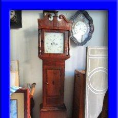 Relojes de pie: PRECIOSO RELOJ INGLES CON SEGUNDERO Y CALENDARIO. FUNCIONA CORRECTAMENTE. Lote 38450459