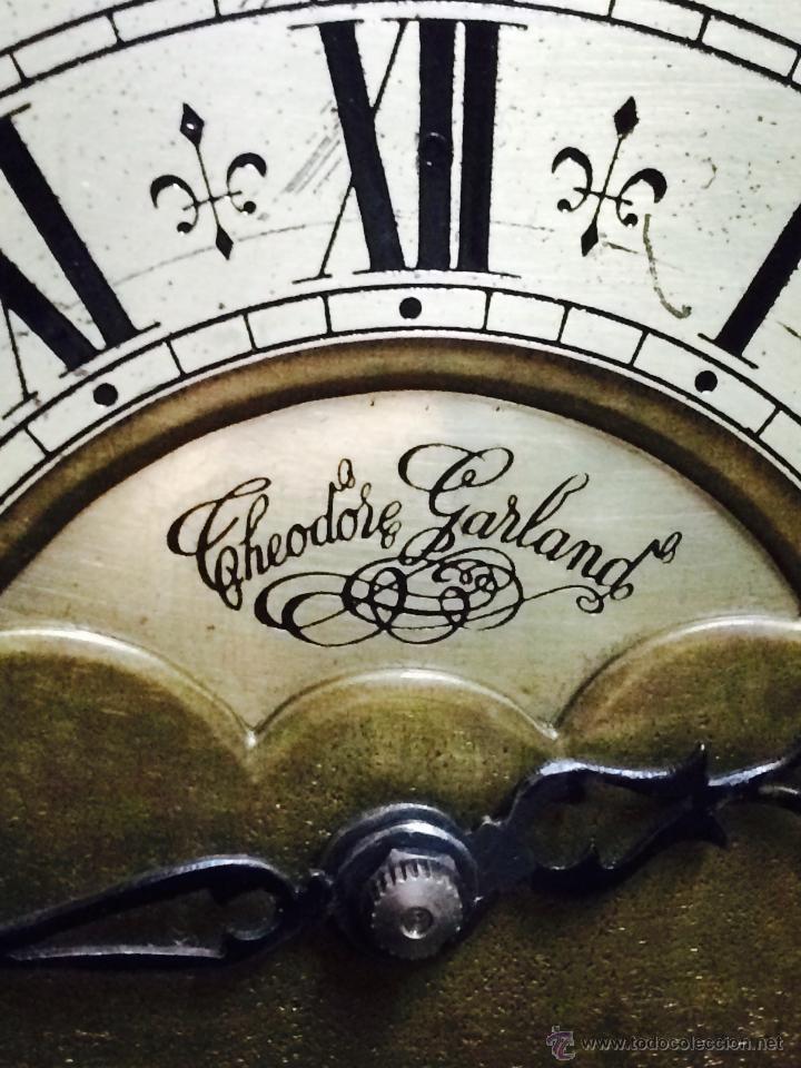 Relojes de pie: ANTIGUO RELOJ DE PIE CARRILLÓN (THEODORE GARLAND) - Foto 5 - 47132246