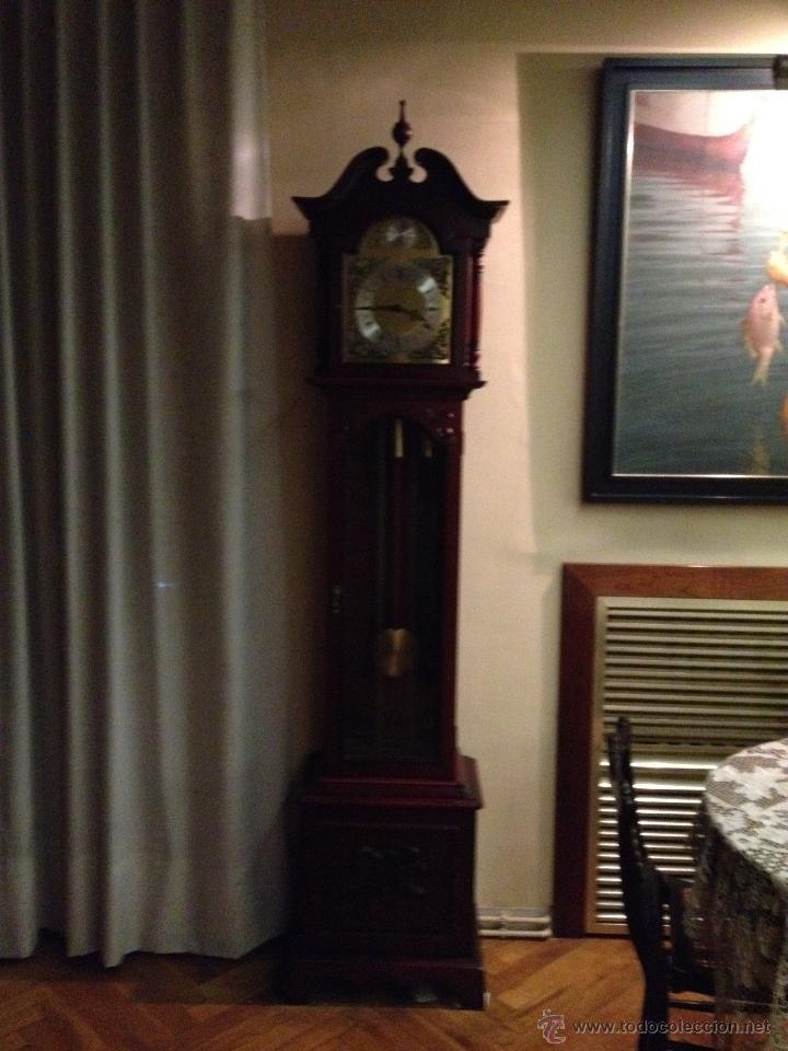 Relojes de pie: Reloj Tempus Fugit de pie Péndulo y Pesas - Foto 2 - 47687412