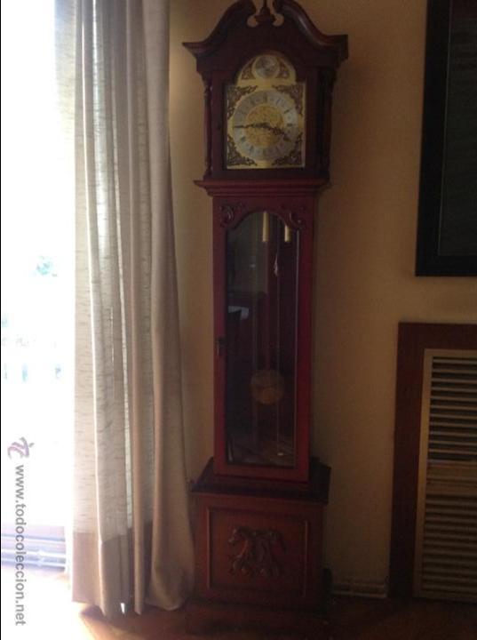Relojes de pie: Reloj Tempus Fugit de pie Péndulo y Pesas - Foto 3 - 47687412