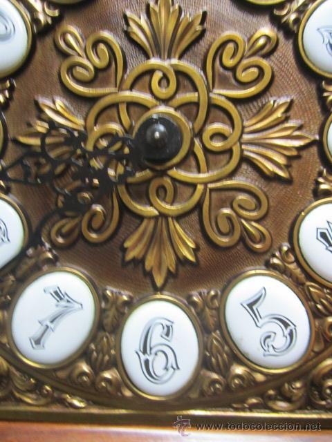 Relojes de pie: Importante reloj de pie marca de lujo Española Lafuente Bronces artísticos con sonerias Funcionando. - Foto 5 - 48040296