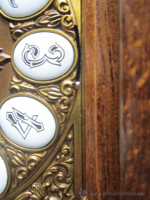 Relojes de pie: Importante reloj de pie marca de lujo Española Lafuente Bronces artísticos con sonerias Funcionando. - Foto 6 - 48040296