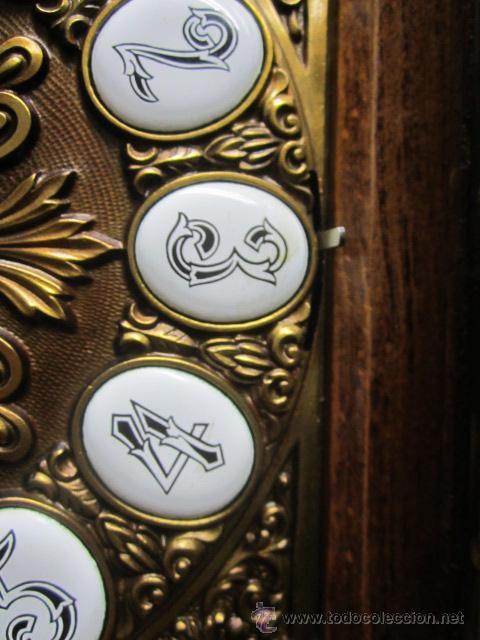 Relojes de pie: Importante reloj de pie marca de lujo Española Lafuente Bronces artísticos con sonerias Funcionando. - Foto 7 - 48040296