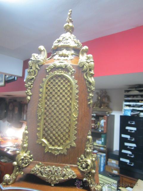 Relojes de pie: Importante reloj de pie marca de lujo Española Lafuente Bronces artísticos con sonerias Funcionando. - Foto 11 - 48040296
