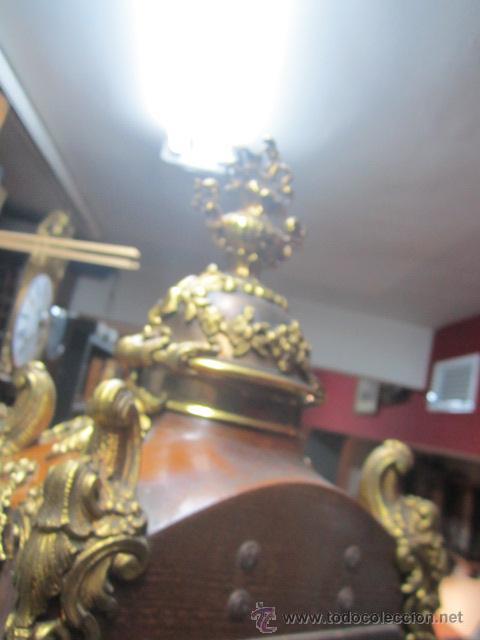 Relojes de pie: Importante reloj de pie marca de lujo Española Lafuente Bronces artísticos con sonerias Funcionando. - Foto 18 - 48040296