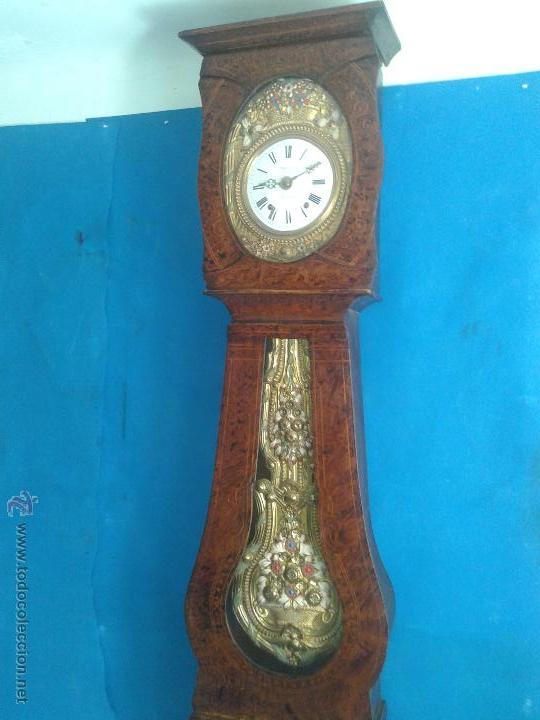 Reloj morez antiguo de campana pendulo real maq comprar for Relojes de pared antiguos de pendulo
