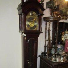 Relojes de pie: ANTIGUO RELOJ DE PIE, 3 PESAS. 40 X 21 X 193 CMS. ALTURA.. Lote 49090224
