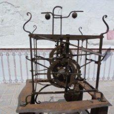 Relojes de pie: RELOJ MONUMENTAL DE TORRE PARA MUSEO O IMPORTANTE COLECCIÓN, PIEZA ÚNICA, FORJADO SOBRE EL AÑO 1500.. Lote 49105179