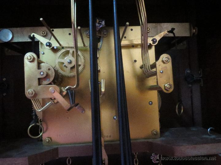 Relojes de pie: RELOJ DE PIE PESAS EN PERFECTO ESTADO - Foto 6 - 41522127
