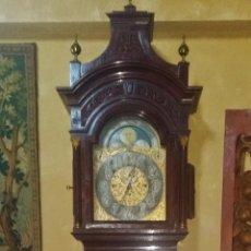 Relojes de pie: RELOJ DE PIE GRANDFATHER ALEMAN,FASES LUNARES DOBLE SONERIA CARILLON,LORENZ FURTWÄNGLER UND SOHNE. Lote 51741820