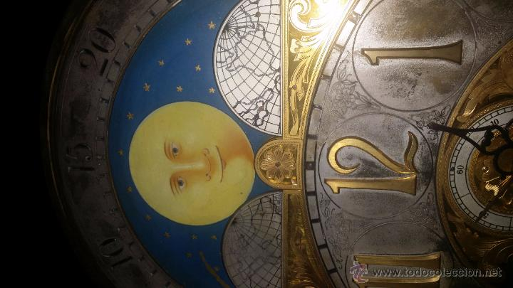 Relojes de pie: RELOJ DE PIE Grandfather ALEMAN,FASES LUNARES DOBLE SONERIA CARILLON,LORENZ FURTWÄNGLER UND SOHNE - Foto 26 - 51741820
