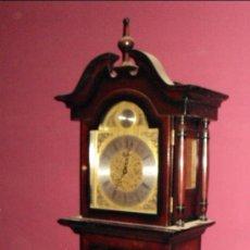 Relojes de pie: RELOJ DE ANTESALA DE LA MARCA TEMPUS FUGIT EN MADERA DE CAOBA. Lote 24519948