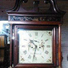 Relojes de pie: ESTUPENDO RELOJ INGLES CALENDARIO Y SEGUNDERO. Lote 52509789