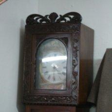 Relojes de pie: RELOJ DE PIE DE NOGAL. Lote 52810782