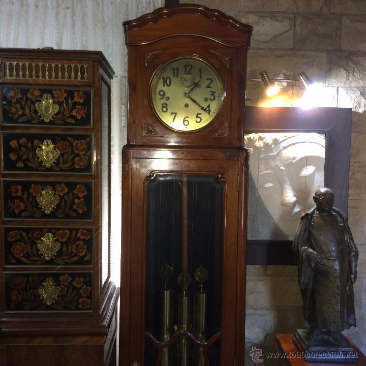 Relojes de pie: RELOJ DE PIE CARRILLÓN GRANDFHATER - Foto 2 - 53333761