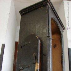 Relojes de pie: ANTIGUA CAJA PARA RELOJ DE PARED. SIGLO XVIII. Lote 53340814