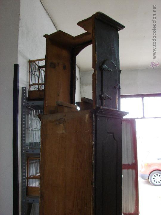 Relojes de pie: ANTIGUA CAJA PARA RELOJ DE PARED. SIGLO XVIII - Foto 5 - 53340814