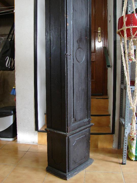 Relojes de pie: ANTIGUA CAJA PARA RELOJ DE PARED. SIGLO XVIII - Foto 8 - 53340814