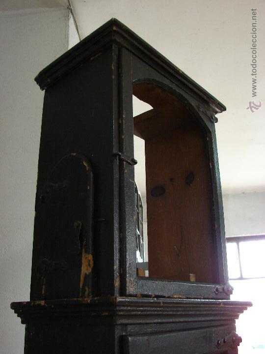 Relojes de pie: ANTIGUA CAJA PARA RELOJ DE PARED. SIGLO XVIII - Foto 11 - 53340814