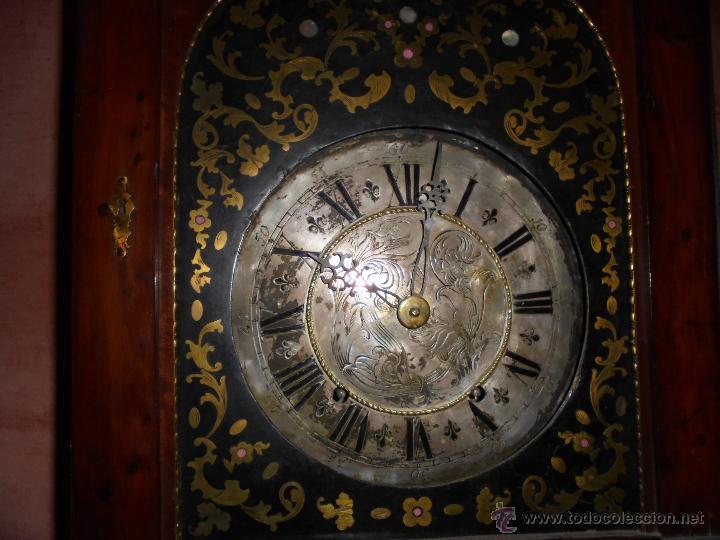 Relojes de pie: Reloj del SXVIII. - Foto 11 - 54301046