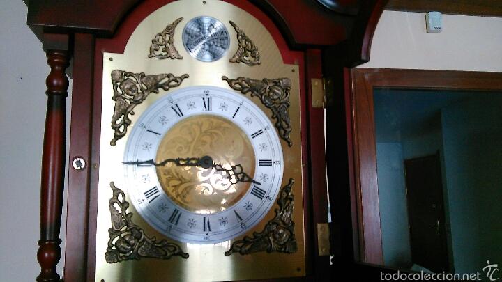 Relojes de pie: Reloj Tempus Fugit de pie Péndulo y Pesas - Foto 11 - 47687412