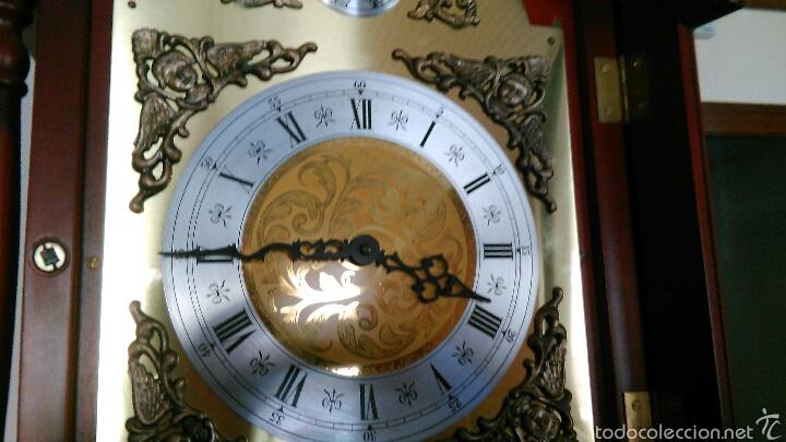 Relojes de pie: Reloj Tempus Fugit de pie Péndulo y Pesas - Foto 13 - 47687412