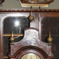 Relojes de pie: RELOJ DE PIE - CHARLES HOWSE LONDON - MADERA DE CAOBA - SIGLO XVIII. Lote 50519597