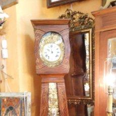 Relojes de pie: RELOJ DE PIE CON CAJA DE MADERA PRINCIPIOS DEL XX. Lote 56936998