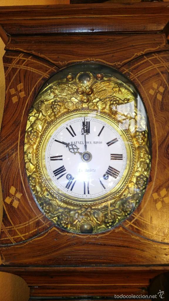 Relojes de pie: RELOJ DE PIE CON CAJA DE MADERA PRINCIPIOS DEL XX - Foto 2 - 56936998
